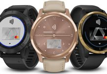 Garmin Smartwatches mit Garmin Pay. Foto: Garmin