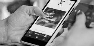 Smartphone zeigt Onlineshop. Foto: Pixabay