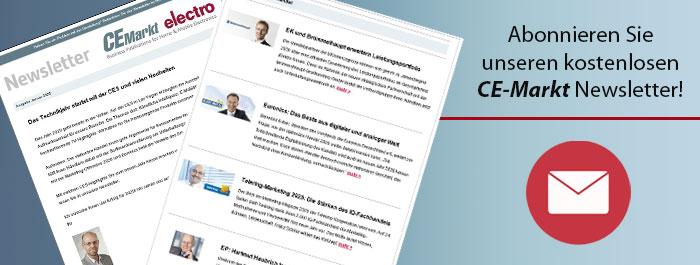 Newsletter CE-Markt