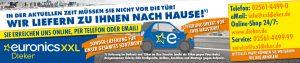 Euronics Dieker Banner-Aktion in Corona-Krise