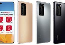 Huawei P40 Pro drei Farben Zukunftsversprechen