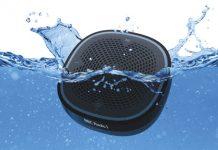 Pure StreamR Splash im Wasser