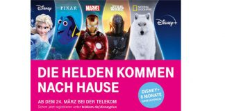 Disney+ bei der Telekom