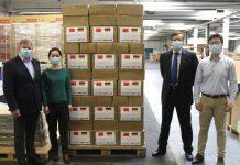 Metz spendet Schutzmasken gegen Corona