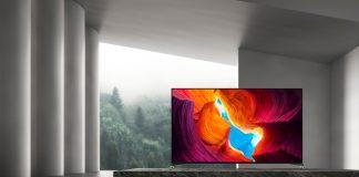 XH95 von Sony Lifestyle-Bild im leeren Raum