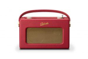 iStream von Roberts Radio in der Farbe Berry Red