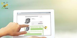 loadbee Produktinformationen auf Website