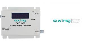 Umsetzer für DAB+-Signale zur Einspeisung in Kabelanlagen von Axing. Foto: Axing