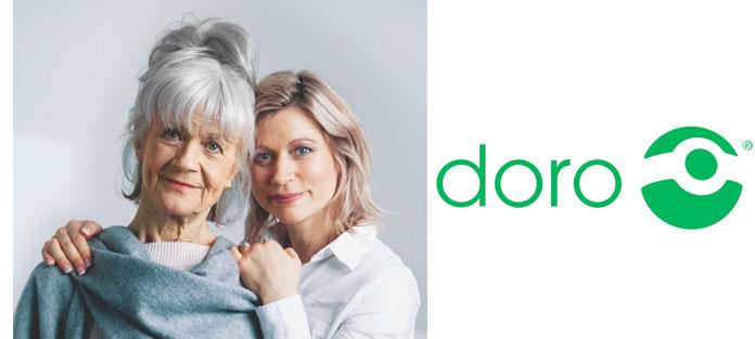 Doro bietet Service für Senioren