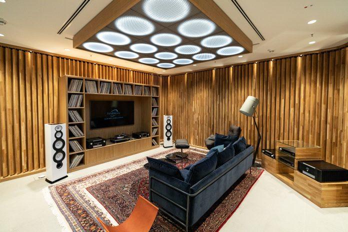 Listening Room des Harman Luxury Audio Studios in München