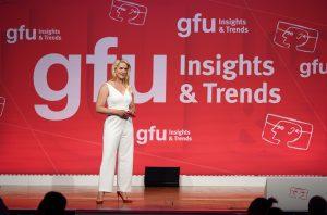 Judith Rakers moderiert gfu Insights & Trends