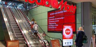 MediaMarktSaturn Smarte Türsteher für sicheres Einkaufen. Foto: MediaMarktSaturn
