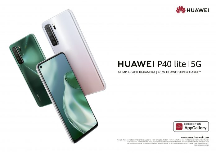 Huawei P40 lite 5G Key Visual