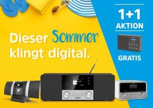 Dieser Sommer wird digital TechniSat-Aktion