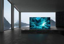 ZH8 von Sony - 8K TV steht frei im Raum