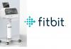 Fitbit Flow und Logo. foto: fitbit