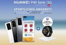 Huawei Sommeraktion 2020 P40. Foto: Huawei