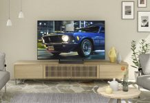 Panasonic-TV HXW 804. Foto: Panasonic