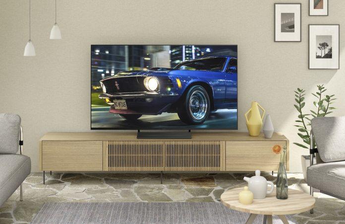 Panasonic-TV HXW 804. Foto: Panasonic
