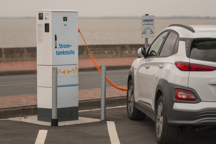 Stromtankstelle für E-Auto