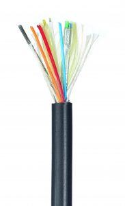 Innerer Aufbau der in-akustik Profi-HDMI 21 LWL-Kabel