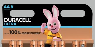 Duracell Alkaline Ultra AA Batterie