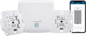 Homematic IP Starter Set Beschattung mit Smartphone