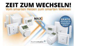 Aktion: Wechseln von Max! zu Homematic IP