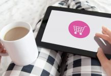 Online-Shopping mit dem Tablet
