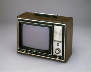 Sony Triniton-PAL-Farbfernseher von 1972