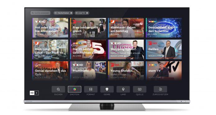 Toshiba TV mit HD+ Komfort-Funktion und TV-Guide