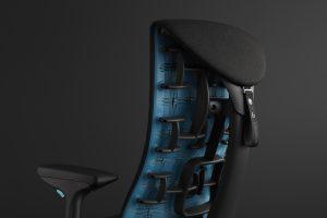 Rückenlehne des Embody Gaming Chair