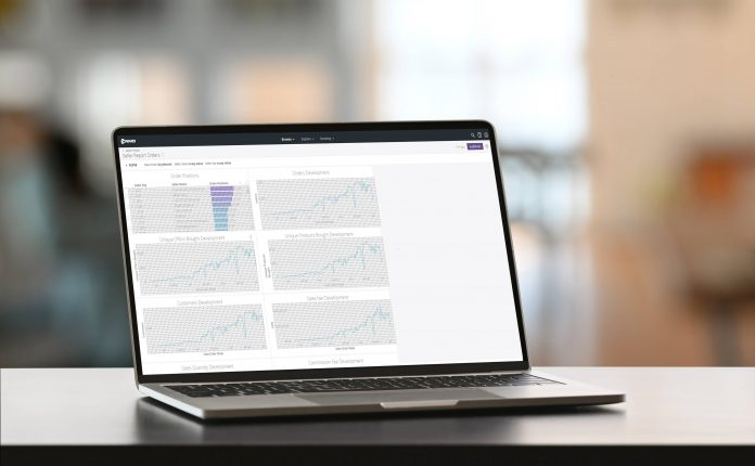 Conrad Sourcing Platform - Bild auf Notebook-Screen