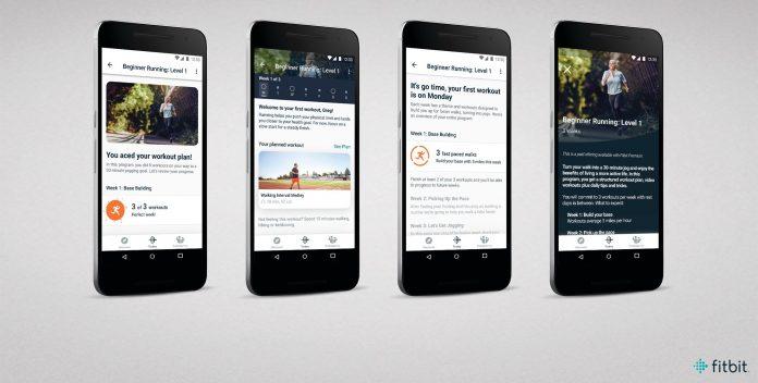Fitbit Premium auf Android-Smartphones