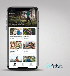 Fitbit Premium iOS Guided Programs