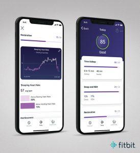 Fitbit Premium iOS Sleep Score
