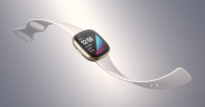 Die neue Smartwatch Fitbit Sense. Foto: Fitbit