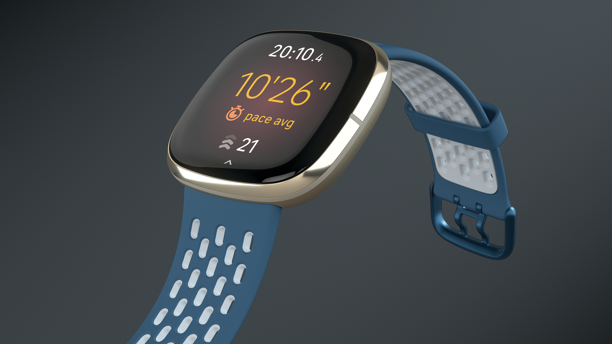 Fitbit_Sense_Sapphire_Fog_Grey_Sport_Crop_Left. Foto: Fitbit