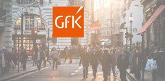 GfK-Logo mit Einkaufsstraße