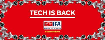 IFA 2020: Tech is back