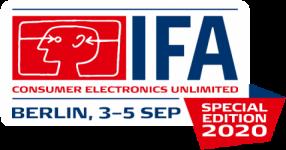 IFA2020 Logo Special Edition. Foto: Messe Berlin