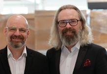 Christian Trapl (CEO von Aqipa, rechts im Bild) und Klaus Trapl (VP Sales)