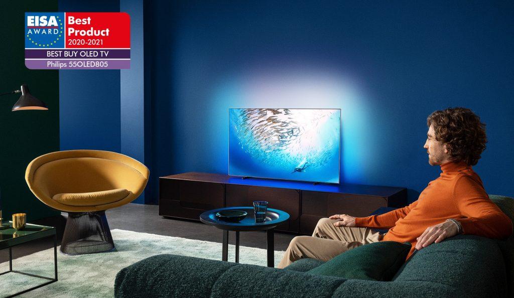 Philips TV OLED 805 EISA. Foto: Philips TV