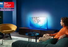 Philips TV OLED 805 EISA. Foto: Philips TV