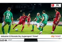 Samsung QLED TV mit Sky-Abo