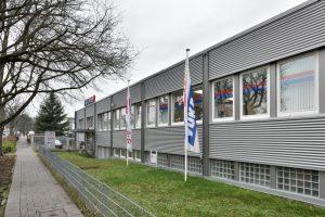 Yukatel-Firmengebäude