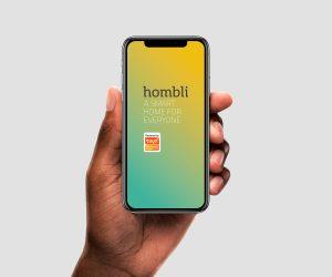 Hombil auf dem Smartphone