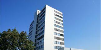 Sharp-Bürogebäude in Düsseldorf