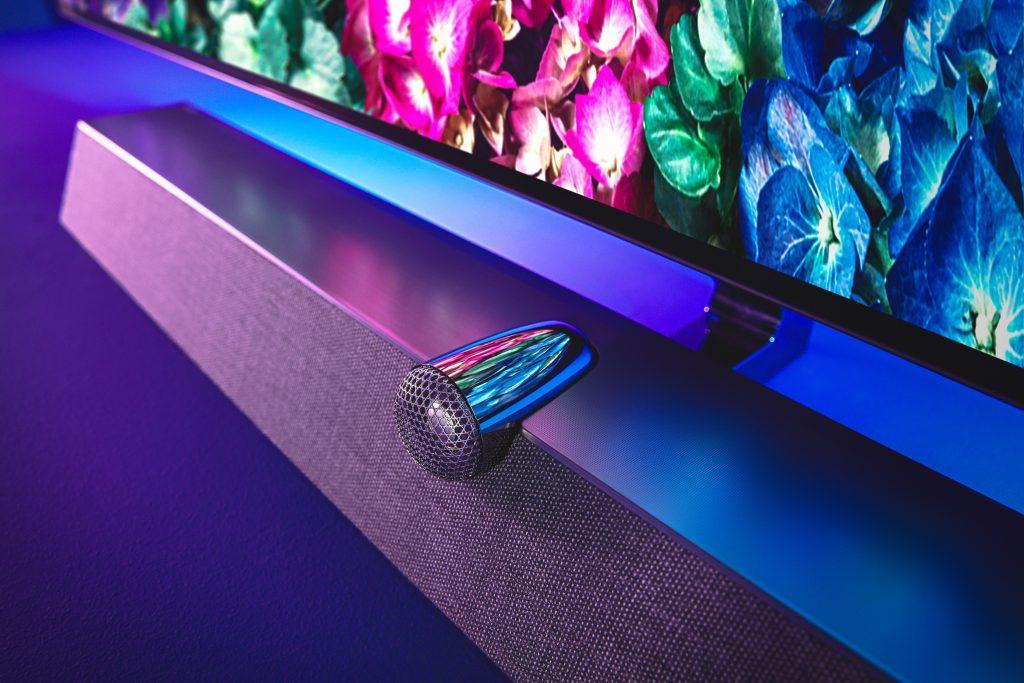 Philips TV mit Audio-Power von Bower & Wilkins. Foto: Philips TV