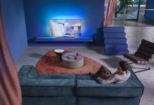 Philips TV OLED+935 mit Bower & Wilkins. Foto: Philips TV